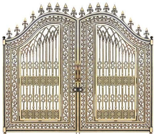 Cổng nhôm đúc, cổng biệt thự